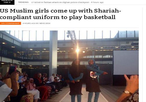 افزایش حضور بانوان محجبه در بسکتبال آمریکا+تصویر