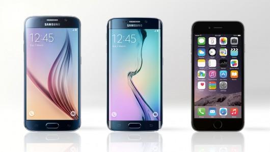 مقایسه غول های تلفن های هوشمند