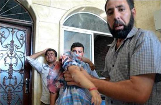 ذبح مردم بیگناه سوریه و ادعای حمایت ذابح