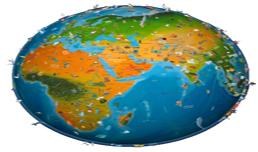 اطلس جهان نسخه 2015 + دانلود