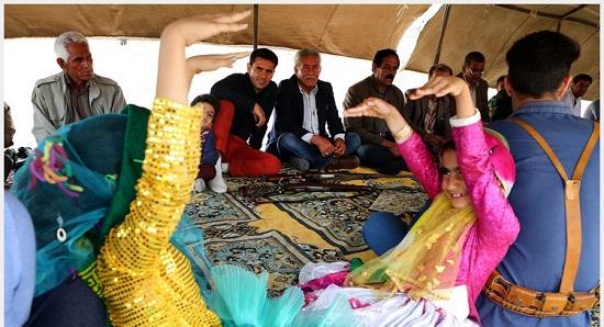 آیین عروسی، به سبک و سیاق عشایر قشقایی + عکس