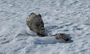 کشف مومیایی مرموز در میان کوههای یخ زده نیومکزیکو + تصاویر