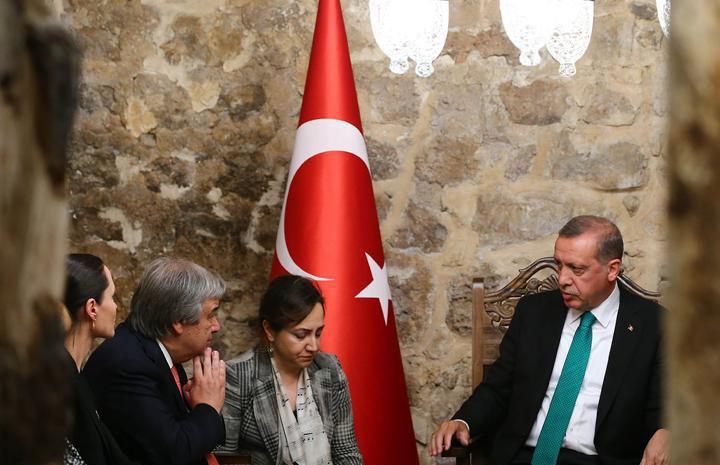 دیدار آنجلینا جولی با اردوغان+عکس