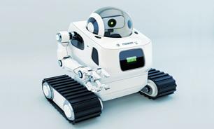 ربات هوشمندی که از کودکان نگهداری میکند + عکس