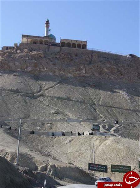 قدمگاه خضر نبی(ع) در شش کیلومتری قم + تصاویر
