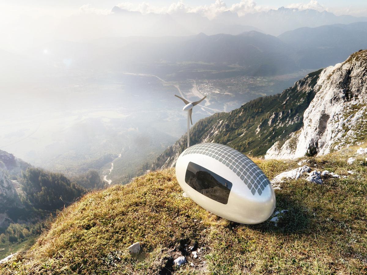 با این وسیله در قله قاف زندگی کنید+عکس