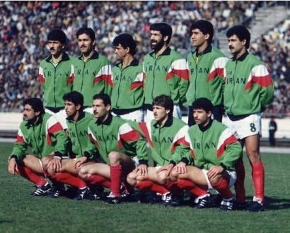 تصویری خاطره انگیزاز تیم ملی ایران؛26 سال پیش
