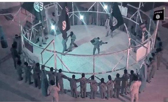 رینگ خونین داعش برای آموزش قاتل+ عکس