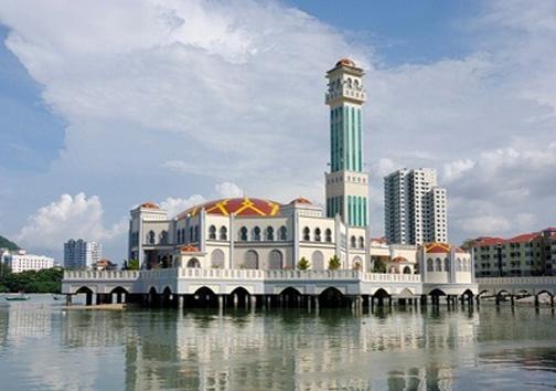 مسجد شناور در مروارید شرق+ تصاویر