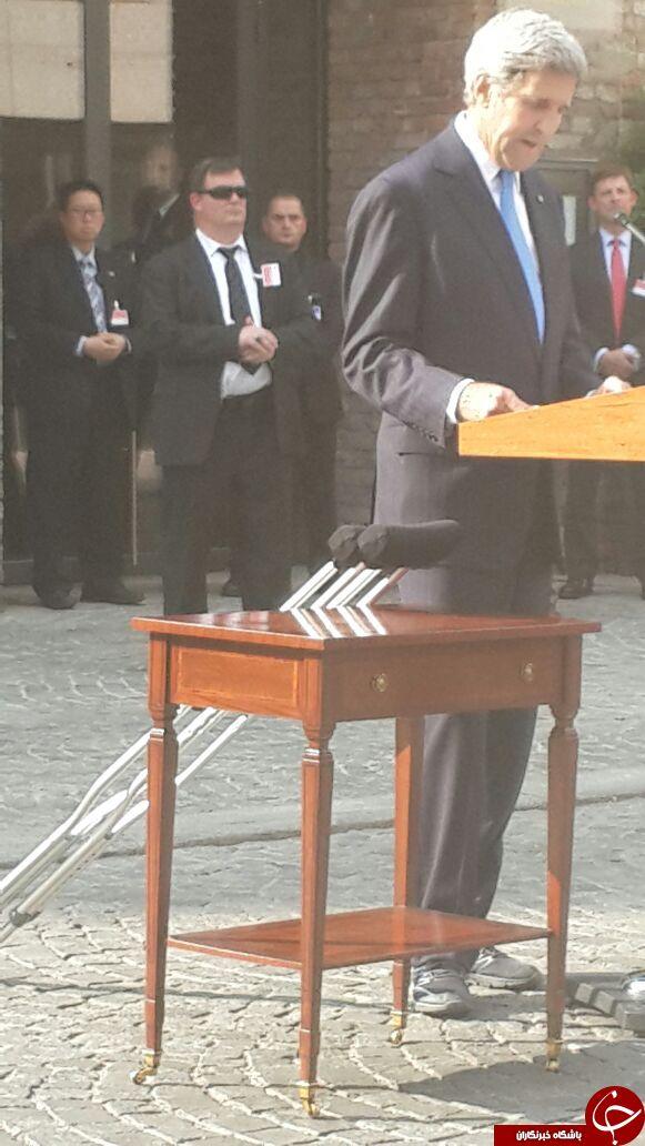 دیپلمات هستهای دست به عصا + عکس