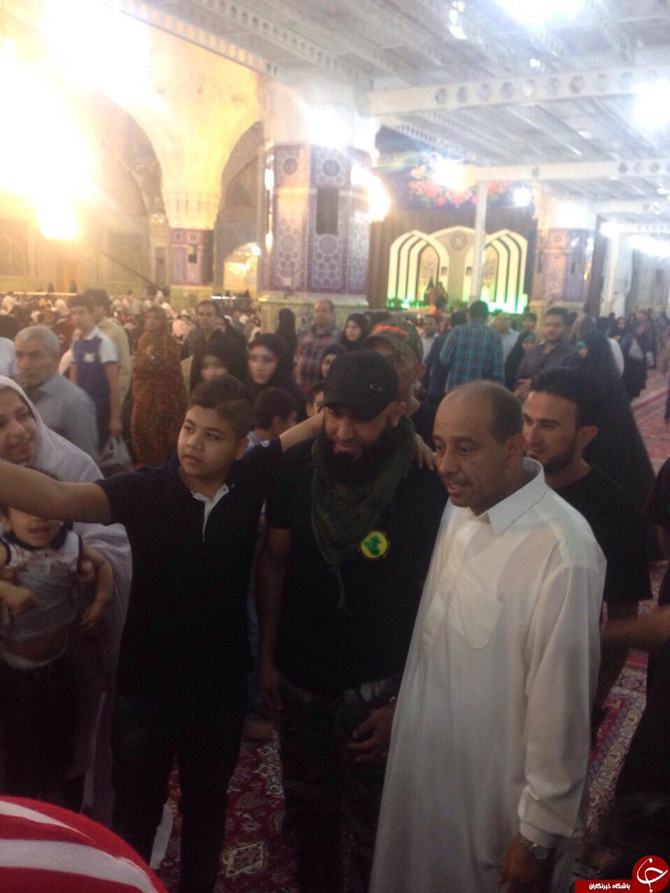 ابوعزرائیل در مشهد + تصاویر