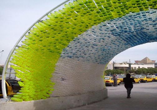 ابتکار شهرداری مشهد با قوطی خالی نوشابه