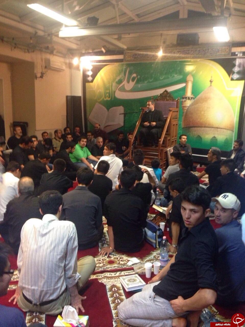 حضور هیئت مذاکره کننده ایرانی در مراسم شب قدر وین+تصویر