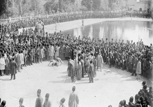قویترین مرد ایران در زمان قاجار + عکس
