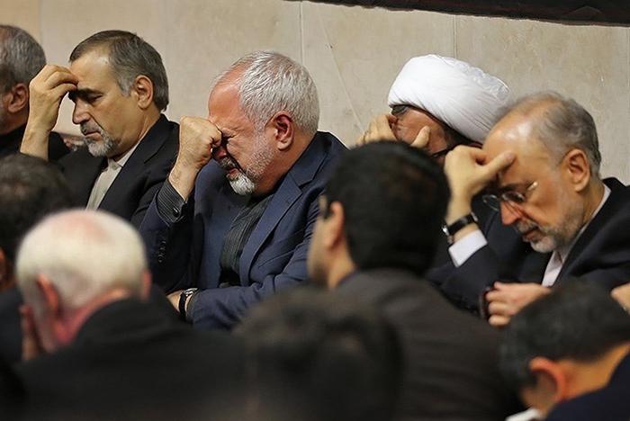 حضور هیئت مذاکره کننده ایرانی در مراسم شب قدر وین+تصاویر