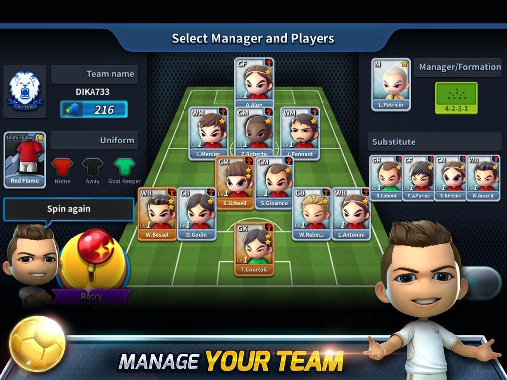 بازی جذاب Football Strike + دانلود