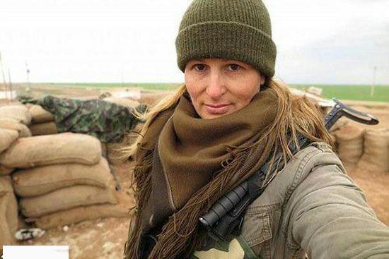 مانکن کانادایی به جنگ داعش رفت+عکس