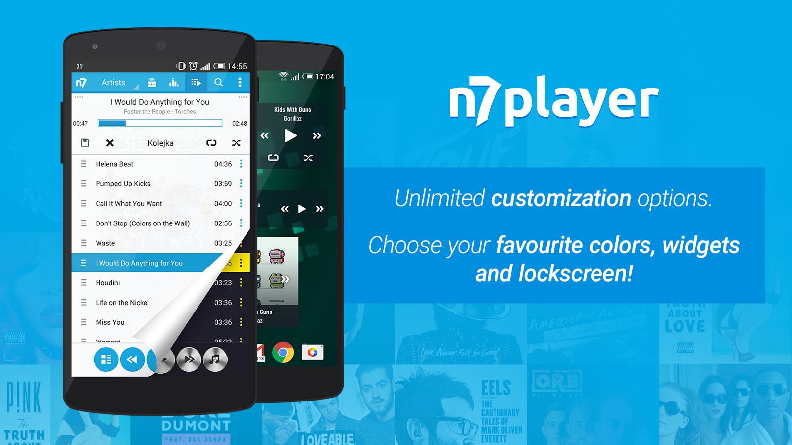 معرفی برنامه n7player Music Player + دانلود