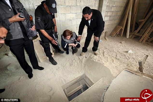 فرار از زندان به شیوه هالیوود+عکس