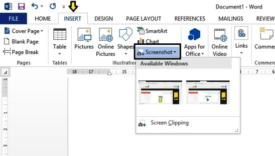 از پنجره های ویندوز خود عکس بگیرید + آموزش