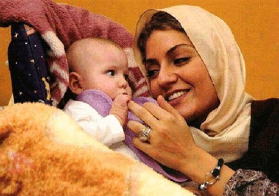 عکس جدید مهناز افشار و دخترش