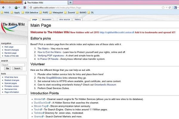 darknet hidden wiki гидра