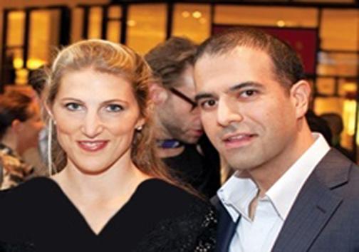 دختر جان کری به همراه همسر ایرانی اش +عکس