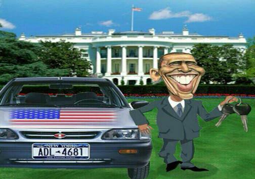 از ظریف هرکول تا پراید سواری اوباما/ چند تصویر از واکنشهای طنز به توافق هستهای