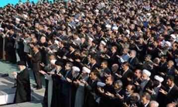 اقامه نماز عید فطر به امامت رهبر معظم انقلاب!