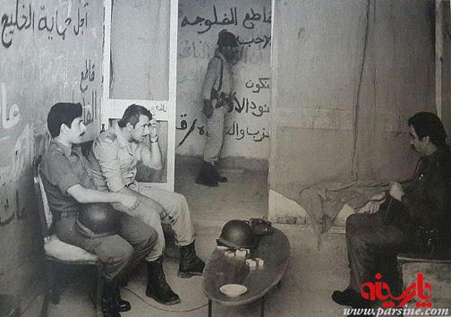 عکس های دیده نشده از حضور عراقی ها در خرمشهر