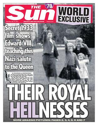 سلام هیتلری ملکه الیزابت جنجال آفرید