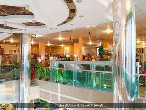 تصاویری از مرکز خرید مجلل داعش لو رفت