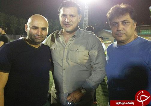 قهر و آشتی های پیشکسوتان در شب مسابقه + عکس و حواشی