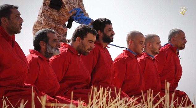 انتشار فیلم اعدام 16 عراقی به دست داعش+ تصاویر
