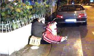 خواب آشفته زنان کارتنخواب در خیابانهای شهر