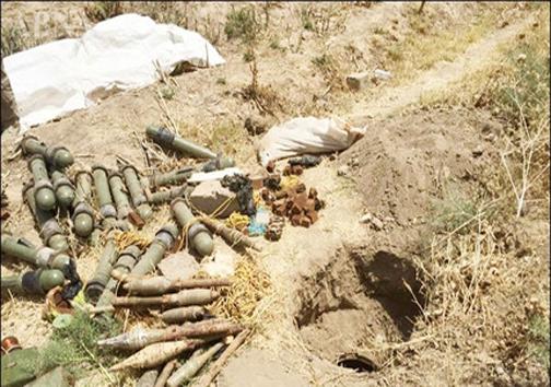 کشف سلاحهای آمریکایی از مخازن داعش+عکس