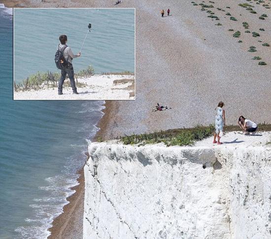 خطرناک ترین مکان برای گرفتن عکس سلفی+تصاویر