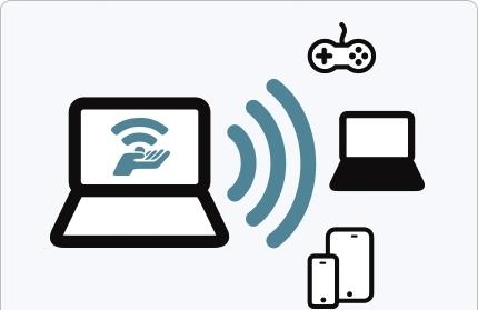 لپ تاپ خود را به مودم WIFI تبدیل کنید + آموزش