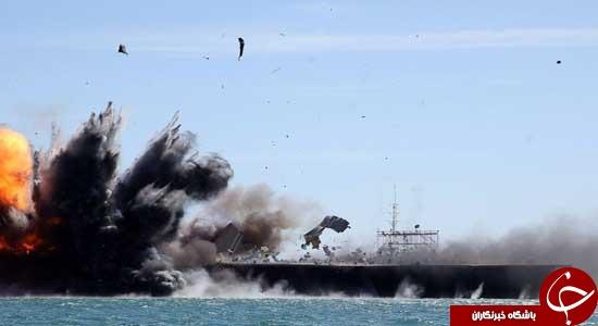 آیا آمریکا توان نابود کردن ارتش ایران را دارد؟/تحقیر آمریکا با انهدام ناو
