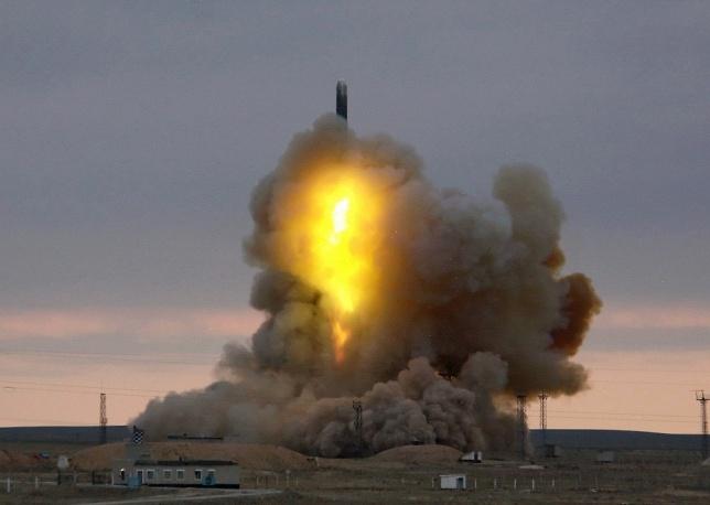 توسعه موشکهای بین قارهای بالستیک در روسیه