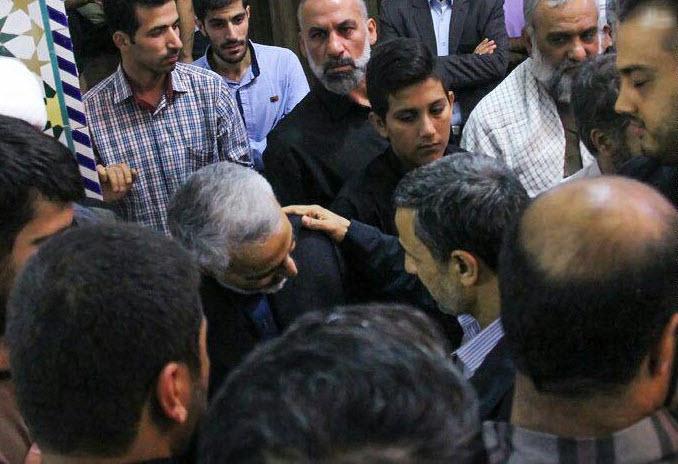 سردار سلیمانی و احمدی نژاد+عکس