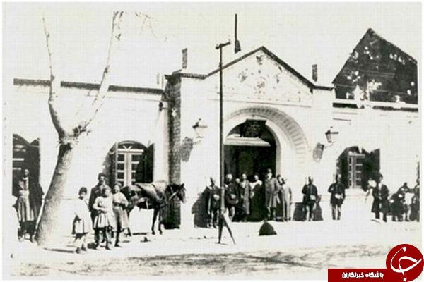اولین بیمارستان ساخته شده در ایران + عكس
