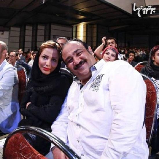 مهران غفوریان و همسرش  + عکس