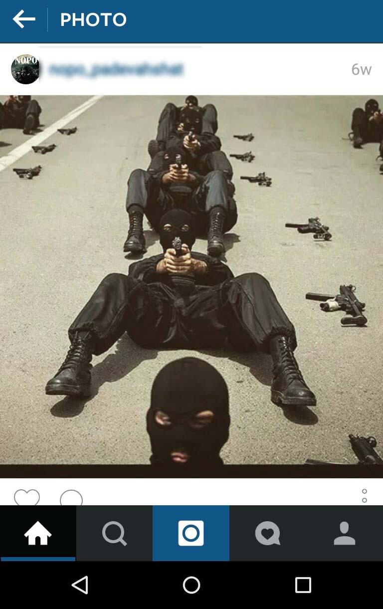نیروی ویژه پاد وحشت + عکس