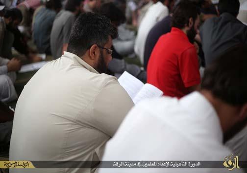 دوره تربیت معلم داعش+عکس