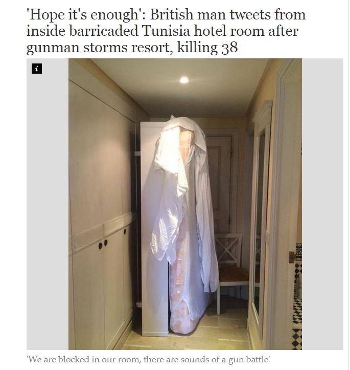 سنگر جنگ در اتاق هتل+عکس
