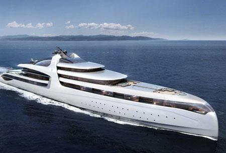 گران قیمت ترین کشتی تفریحی جهان + تصاویر