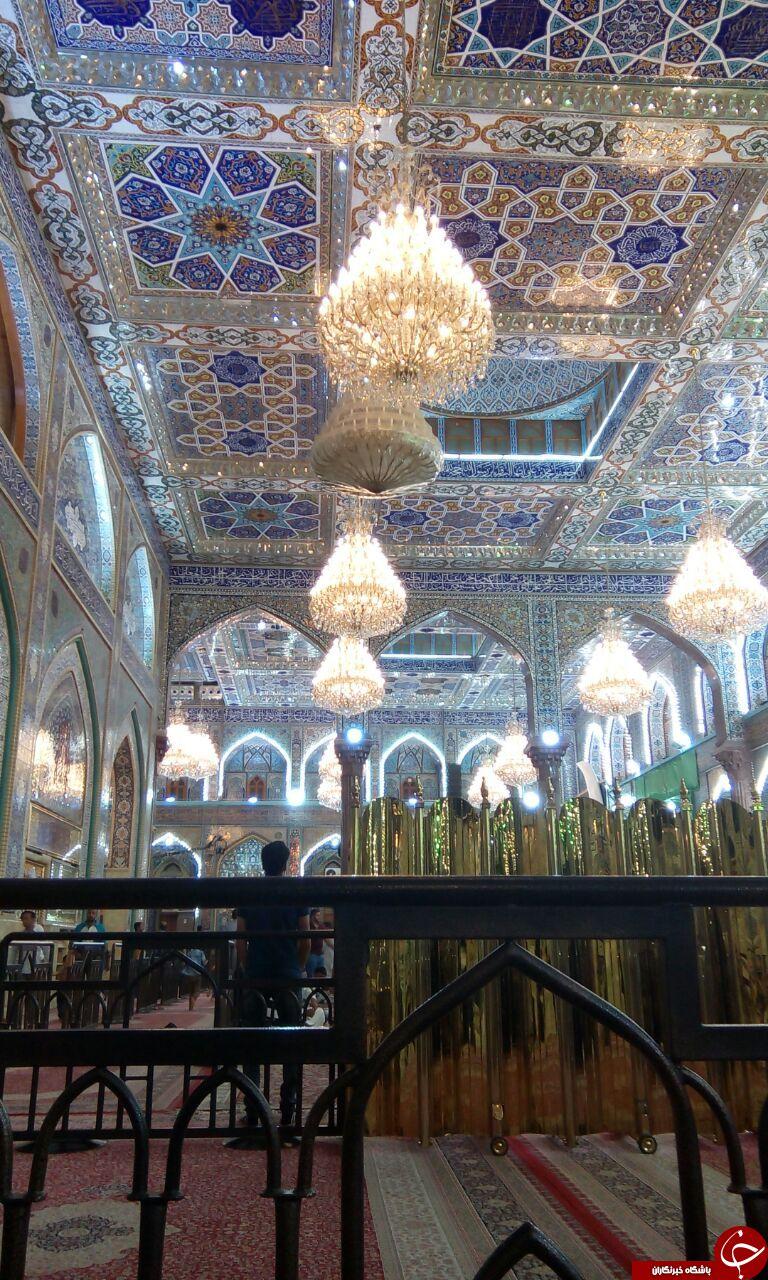نزدیکترین لنز دوربین به مرقد امام حسین (ع)