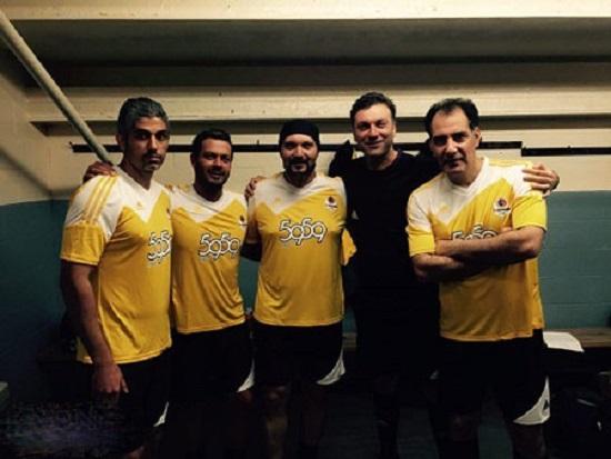 تصویری از این هنرپیشههای فوتبالیست!