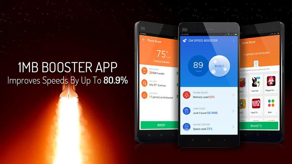 دانلود CM Speed Booster برای افزایش سرعت تلفن همراهتان